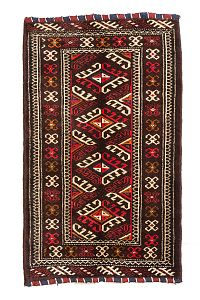 HANDMADE CARPET TORKAMAN 1,00x0,67 (SET) handmade carpet