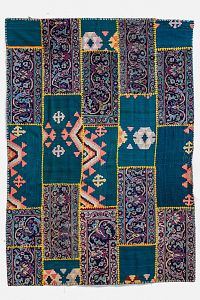 HANDMADE CARPET PATCHWORK 2,16x1,51 handmade carpet